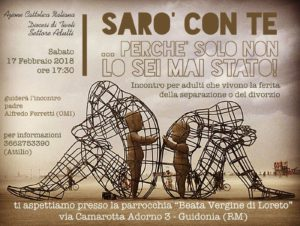 Incontro per Adulti separati e divorziati @ Parrocchia B.V. di Loreto | Guidonia | Lazio | Italia