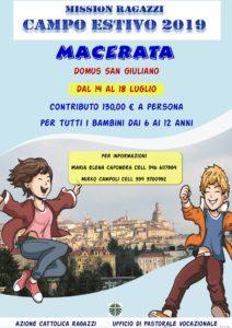 Campo diocesano ACR 2019 @ Domus S. Giuliano | Camporotondo | Abruzzo | Italia