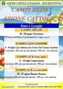 Campo estivo diocesano Adulti @ Vitorchiano | Vitorchiano | Lazio | Italia