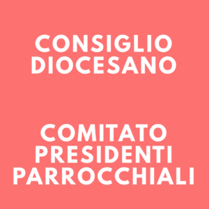 Consiglio Diocesano e Comitato Presidenti Parrocchiali @ Centro Diocesano di AC