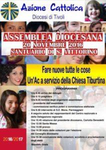 XVI Assemblea Elettiva Diocesana @ Santuario di Nostra Signora di Fatima a San Vittorino | San Vittorino | Lazio | Italia