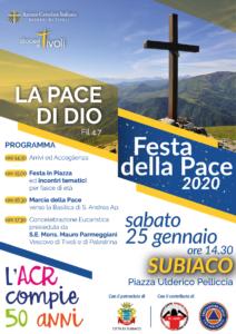 Festa della Pace 2020 @ Subiaco