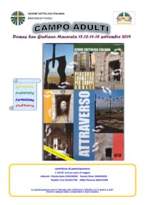 Campo diocesano Adulti 2019 @ Domus S. Giuliano | Loreto | Marche | Italia
