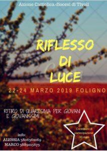 Ritiro Spirituale Quaresima 2019 - Settore Giovani @ Palazzo Pierantoni - Ostello di Foligno | Umbria | Italia