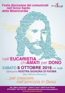 Giubileo Diocesano dei Comunicati @ Santuario di Nostra Signora di Fatima a San Vittorino